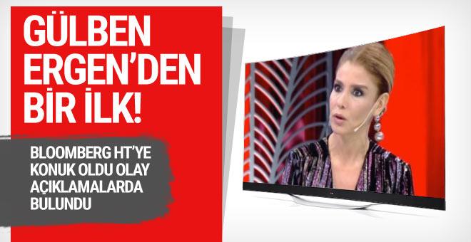 Bloomberg Ht'de olay açıklamalar yapan Gülben Ergen'den bir ilk!