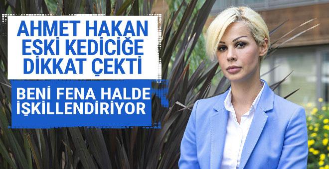 Ahmet Hakan eski kediciğe dikkat çekti: Beni fena halde işkillendiriyor