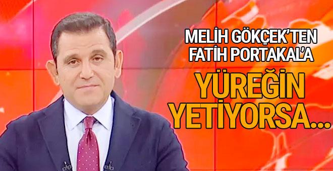 Melih Gökçek'ten Fatih Portakal'a Ankapark cevabı: Yüreğin yetiyorsa...