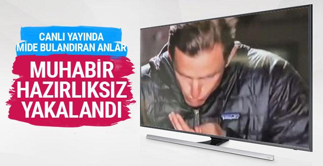 Amerikan televizyonunda mide bulandıran anlar!