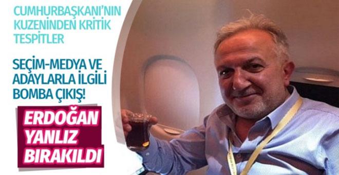 Erdoğan'ın kuzeni Er'den bomba çıkışlar: AK Parti medyası İmamoğlu'nu yüceltti