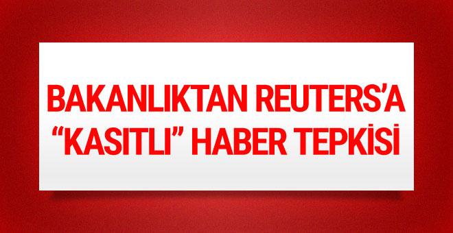 Hazine ve Maliye Bakanlığından Reuters'a 'kasıtlı haber' tepkisi