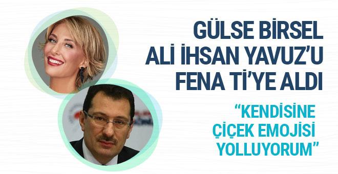 Gülse Birsel Ali İhsan Yavuz'u fena ti'ye aldı!