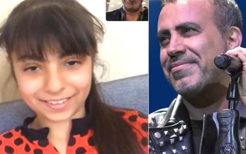 Haluk Levent Emine Bulut'un kızı Bilge'nin yüzünü güldürdü