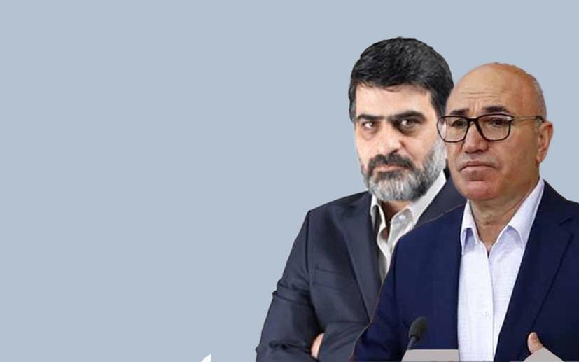 Mahmut Tanal ve Ali Karahasanoğlu birbirine girdi, hakaretler havada uçuştu