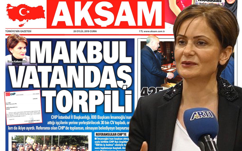 Yeni polemik 30 bin CV! Akşam gazetesi manşet yaptı Kaftancıoğlu yalanladı