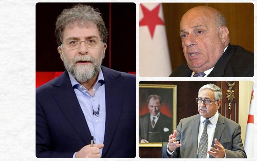 Ahmet Hakan, Akıncı'ya Rauf Denktaş'ın dilinden saydırdı: Kendine gel Mustafa!