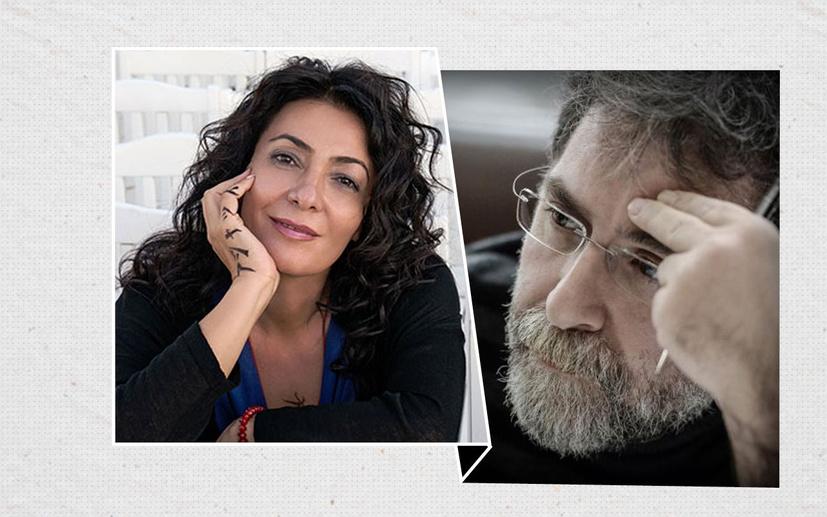 Nuran Yıldız'dan Ahmet Hakan'a eski dost eleştirisi: Kendi kendini aşağıya çekiyorsun