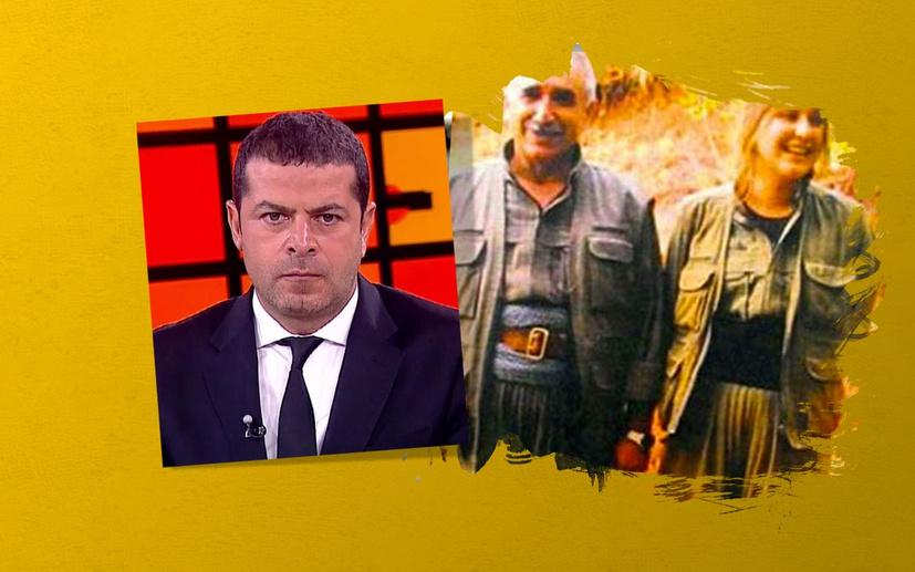 Fatih Er'den TRT World'ü eleştiren Cüneyt Özdemir'e kırmızı fularlı kız göndermesi: Bu süreçte Milli olmayı dene