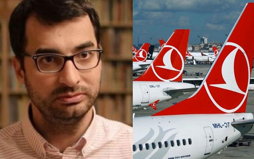 Barış Terkoğlu'ndan haklı eleştiri:  THY'de yabancı gazeteler serbest, Türk gazeteler yasak!