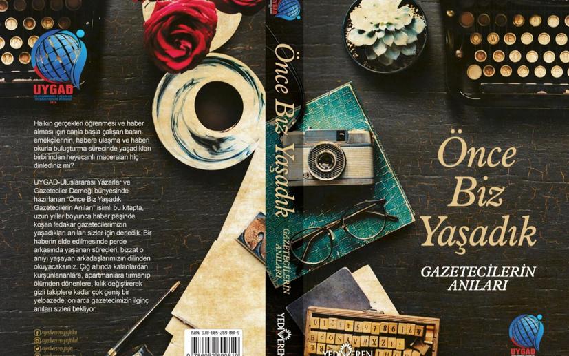 76 gazetecinin ilk toplu anı kitabı! TÜYAP'ta bir araya geliyorlar!