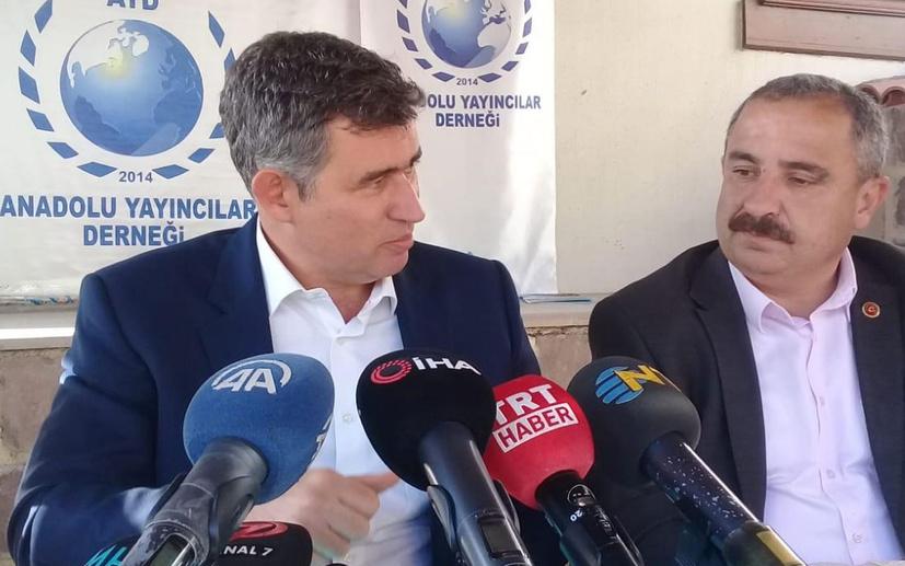Metin Feyzioğlu'ndan Anadolu basınına destek
