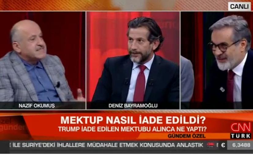 CNN Türk'te kim ne manşet attı tartışması