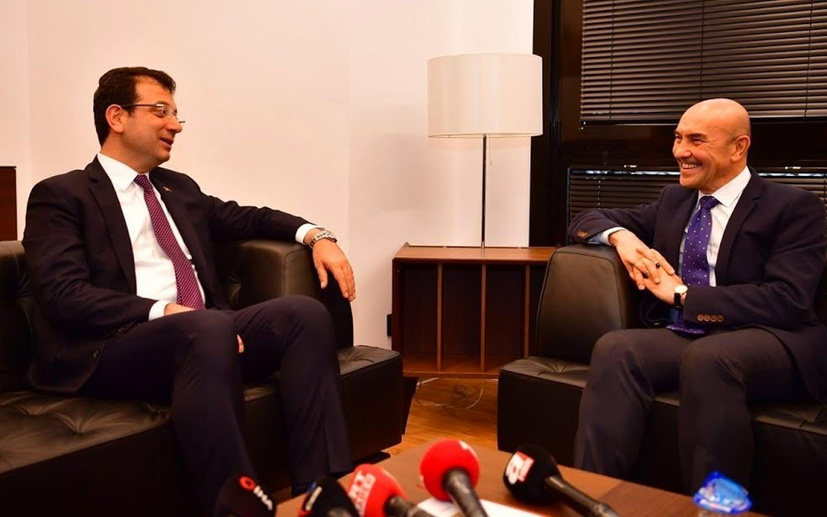 Nagehan Alçı'dan Tunç Soyer'e tebrik, Ekrem İmamoğlu'na sitem!