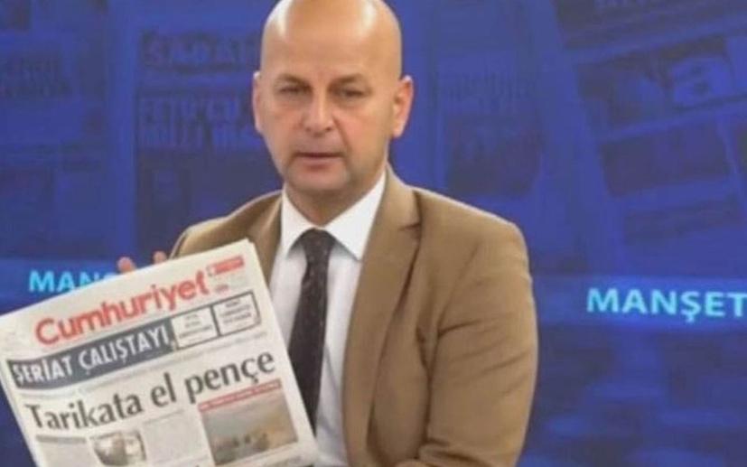 Toplanıp Cumhuriyet'in önüne el bombası atalım demişti! Akit TV sunucusu hakkında flaş gelişme!