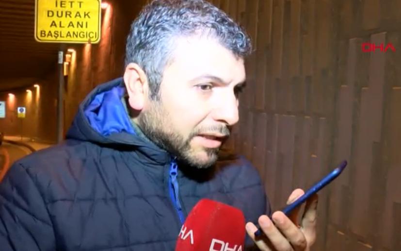 Günün muhabiri DHA'dan Ertan Kılıç