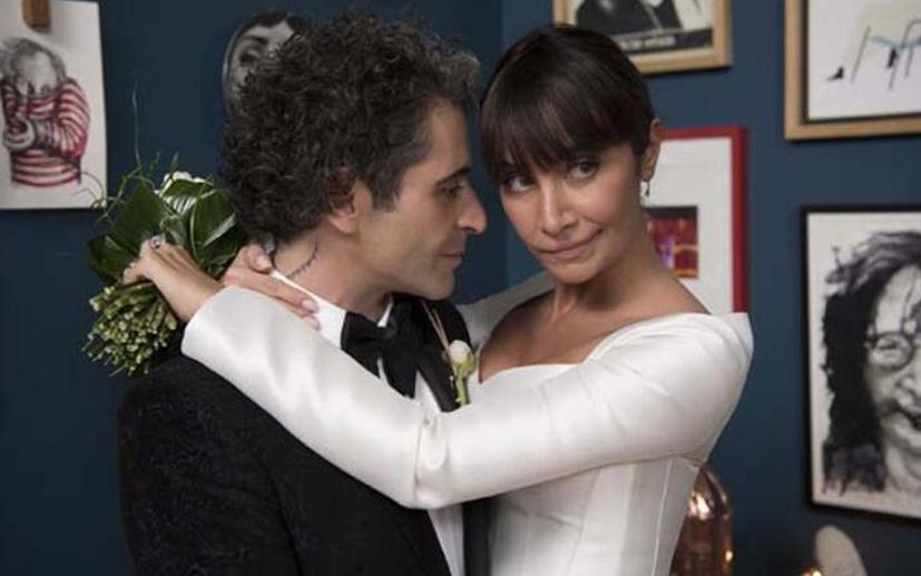 Sıla ve Hazer Amani evlendi! İşte nikahtan ilk görüntüler...