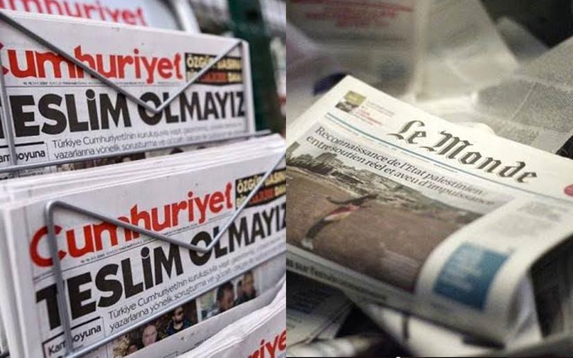 Cumhuriyet gazetesinin basın ahlak esaslarını ihlali cezasız kalmadı