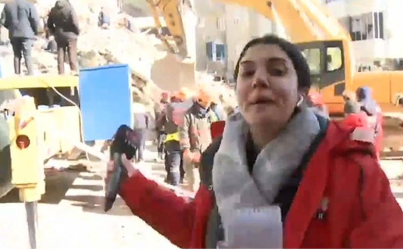 Günün muhabiri Fulya Öztürk