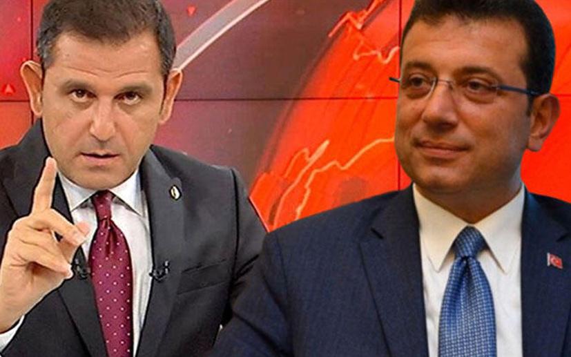 Erdoğan suç duyurusunda bulunmuştu!İmamoğlu'ndan Fatih Portakal'a destek