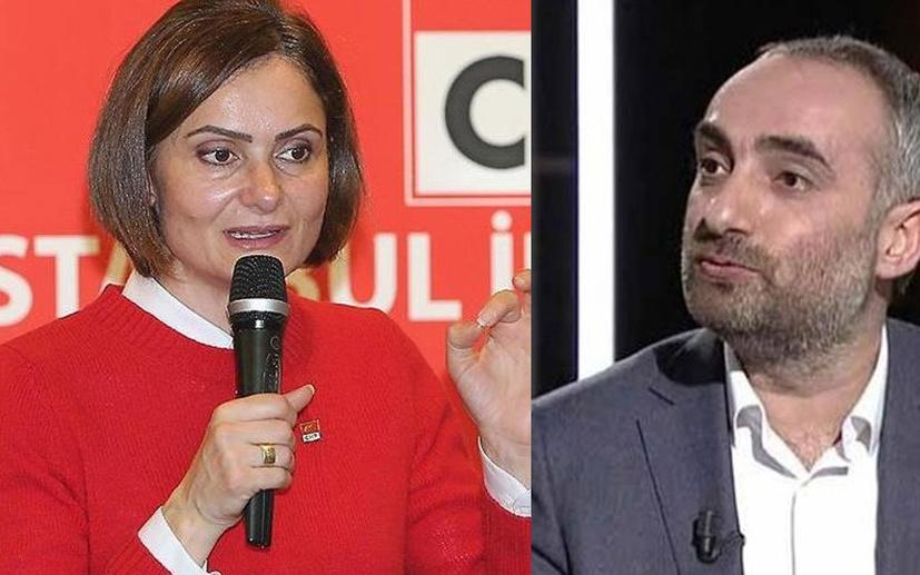 Canan Kaftancıoğlu ve İsmail Saymaz birbirine girdi: Karantinaya alınmanızda fayda görüyorum