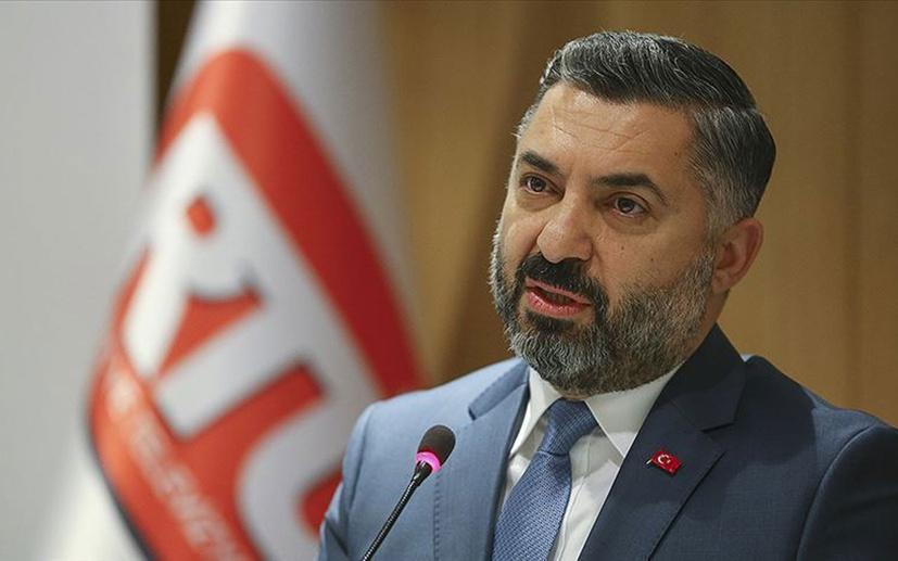 RTÜK Başkanı Şahin'den Üst Kurula yönelik eleştirilere yanıt