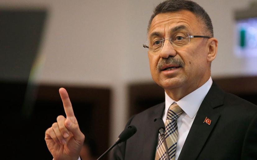 Cumhurbaşkanı Yardımcısı Fuat Oktay'dan İsrail'e tepki derhal durdurun