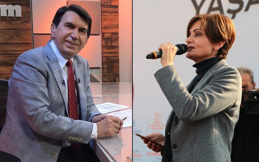 Fuat Uğur'dan Canan Kaftancıoğlu'na Tuncay Özkan tebriği