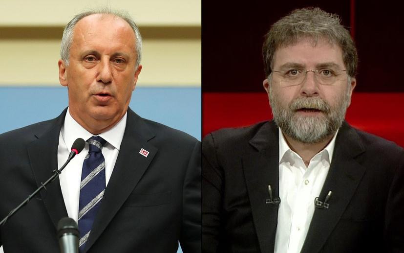 Oray Eğin: İnce'yi gündeme getiren Ahmet Hakan ve Hürriyet'tir