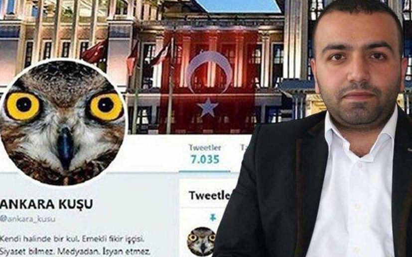 Ankara kuşu tahliye edildi