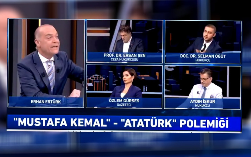Selman Öğüt Haber Global'de canlı yayını terk etti