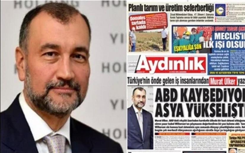 Murat Ülker, Aydınlık'ta mı yazıyor? Olay yaratacak iddia