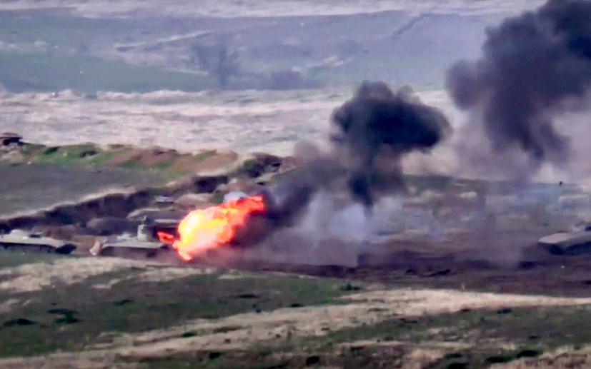 Ermenistan'ın Azerbaycan saldırısı köşe yazılarında