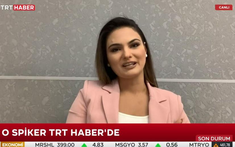 Azerbaycanlı spiker yaşadığı duygu dolu anları TRT Haber'de anlattı