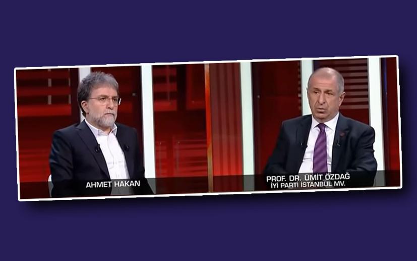 Ümit Özdağ'dan Ahmet Hakan'a çarpıcı açıklamalar!