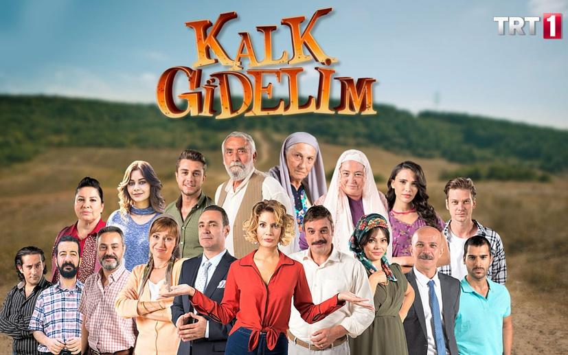Kalk Gidelim dizisinden Azerbaycan'a destek mesajı