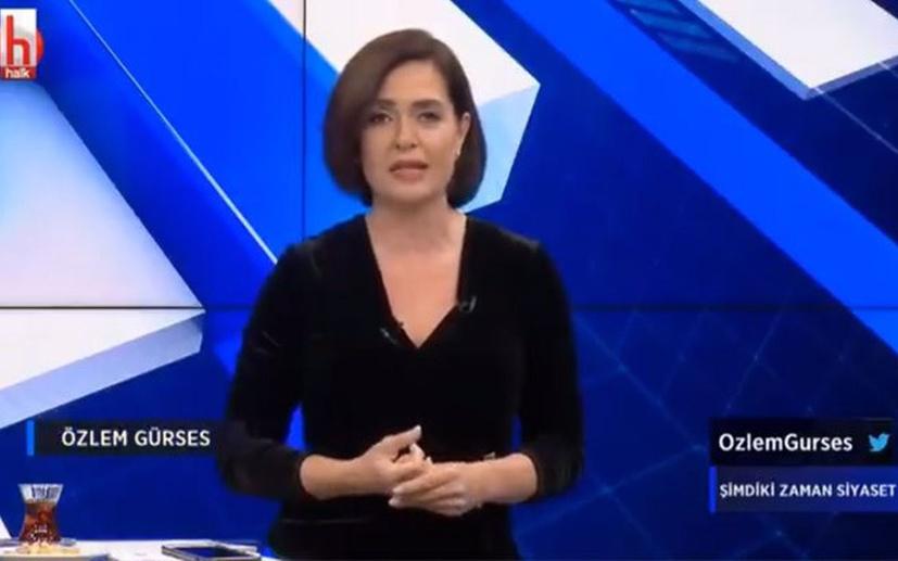 Özlem Gürses, test sonucu çıkmadan Halk TV'de yayına çıktı