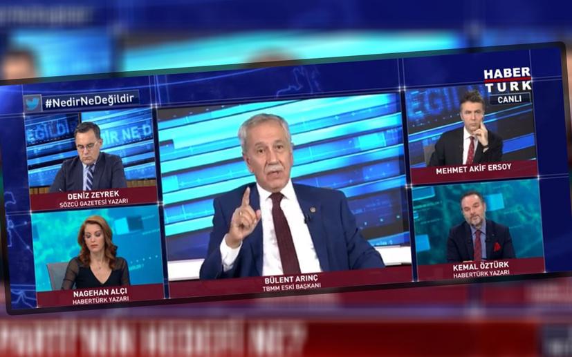 Bülent Arınç'tan Selahattin Demirtaş ve Osman Kavala açıklaması