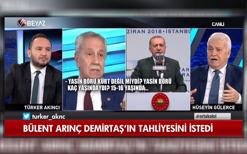 Devlet Bahçeli'den Türker Akıncı'ya teşekkür telefonu