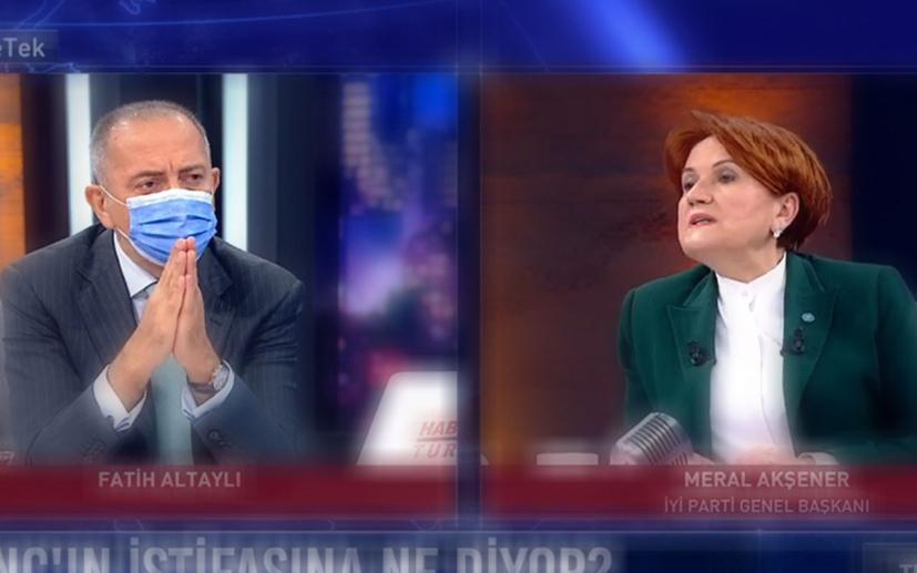 Meral Akşener Habertürk'te konuştu: Ümit Özdağ benden grup başkanlığı talep etmişti