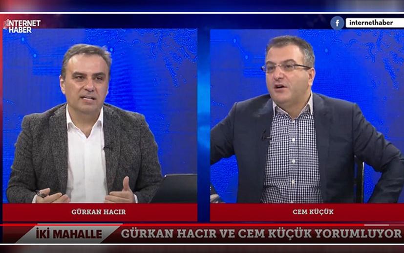Gürkan Hacır ve Cem Küçük arasında muhalif-yandaş medya tartışması