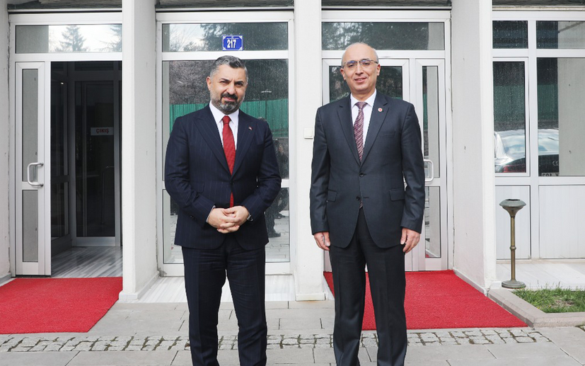 """RTÜK ile TDK """"Dünya Dili Türkçe"""" seferberliğinde buluştu"""