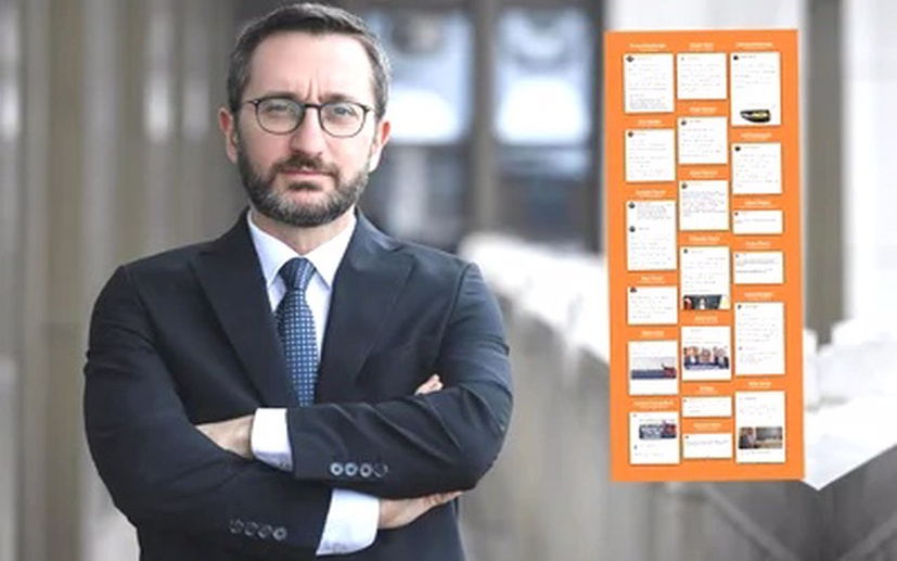 İletişim Başkanı Fahrettin Altun, bildiriye destek veren isimlere sert tepki gösterdi