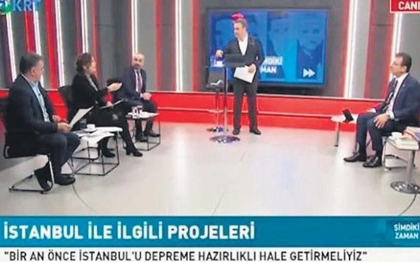 Hilal Kaplan'dan İmamoğlu'nu konuk alan gazetecilere 'yağdaş' göndermesi