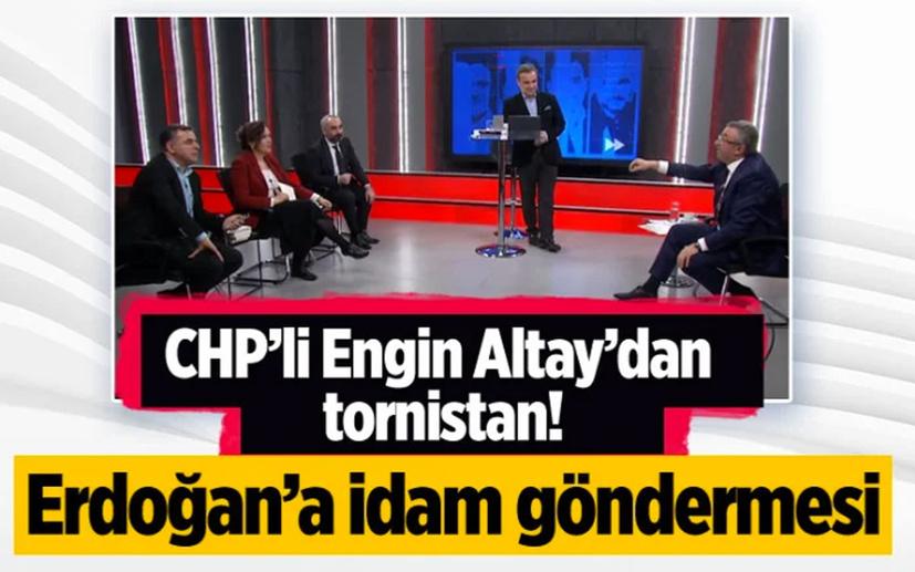 CHP'li Engil Altay'dan çirkin Erdoğan benzetmesi