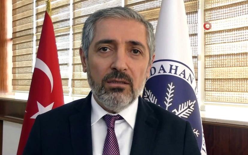 9 makamı olan Ardahan Üniversitesi Rektörü Mehmet Biber'den açıklama