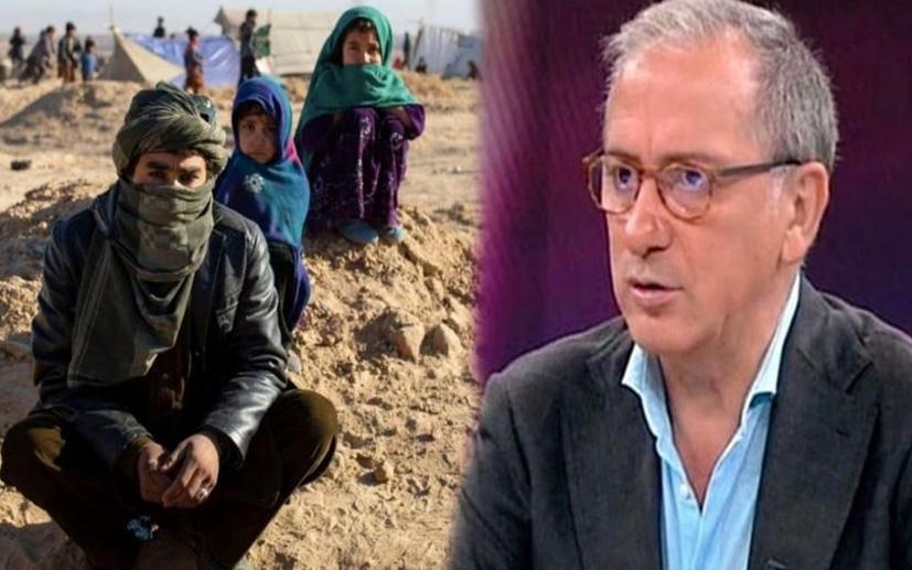 """Fatih Altaylı'dan 'Afgan göçmen' tepkisi! """"Bize ne girdiği belli değil ama..."""""""