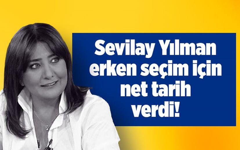Sevilay Yılman 'Erken seçim 6 Kasım 2022'de' dedi! Cumhur İttifakı 2-0 önde girecek