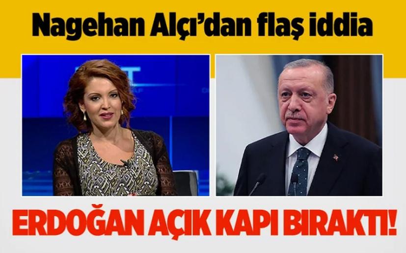 Nagehan Alçı'dan '28 Şubat'ın generalleri' için af iddiası: Erdoğan açık kapı bıraktı