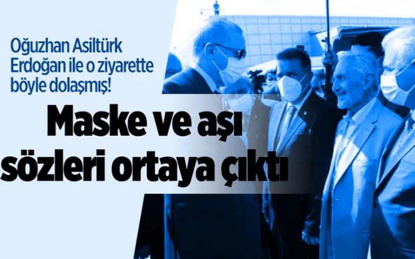 Oğuzhan Asiltürk maske korumuyor demiş! Aşı olmadığı ortaya çıktı! Selvi o görüşmeyi yazdı